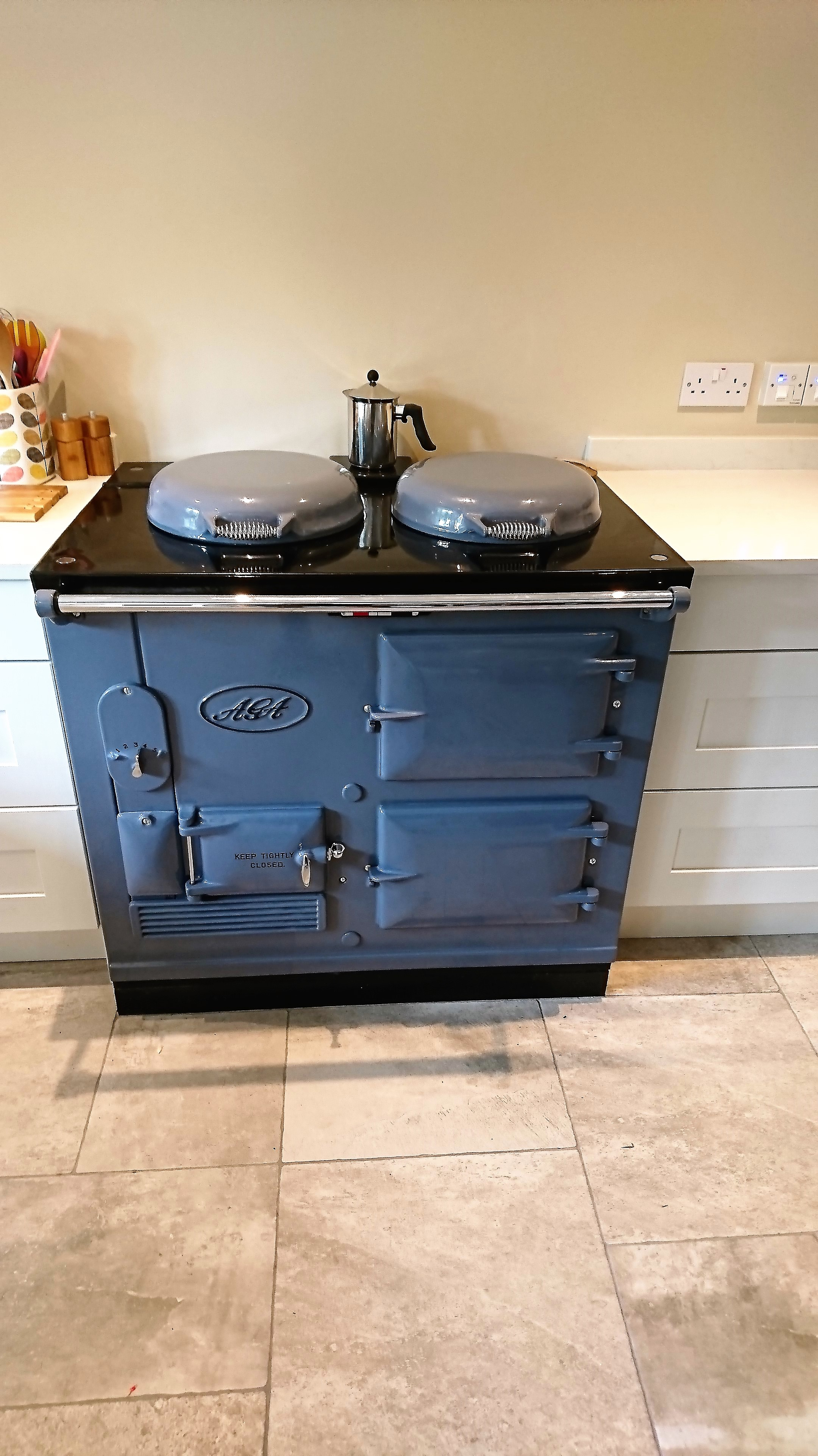 2 Oven Electric Aga Standard <br><br>Installed in a Farm House in Devon<br>