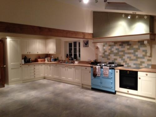 2 Oven Aga Cooker installed at Ansty<br>Duck Egg Blue 13 amp electric