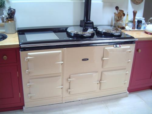 4 Oven Pre-74 Aga Cooker installed in a farm house in Ibberton Dorset