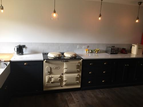 2 Oven Standard Aga Re-Enamelled in Cream