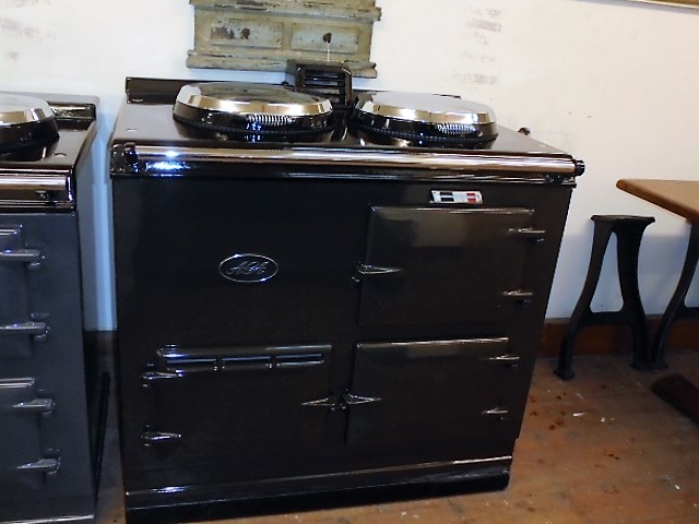 2 Oven Post74 Aga Cooker<br>Reconditioned and converted to Electric<br><br>Front in Original Pewter<br><br>New Top Plate and Lids<br><br>Installed in a 50 mile radius with 2 years guarantee<br><br>Charge for over 50 miles<br>