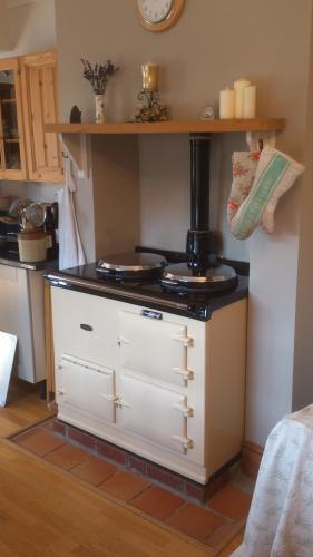 2 Oven Gas Aga Cooker in Cream installed in Southampton <br>Gas Fired Conventional flue