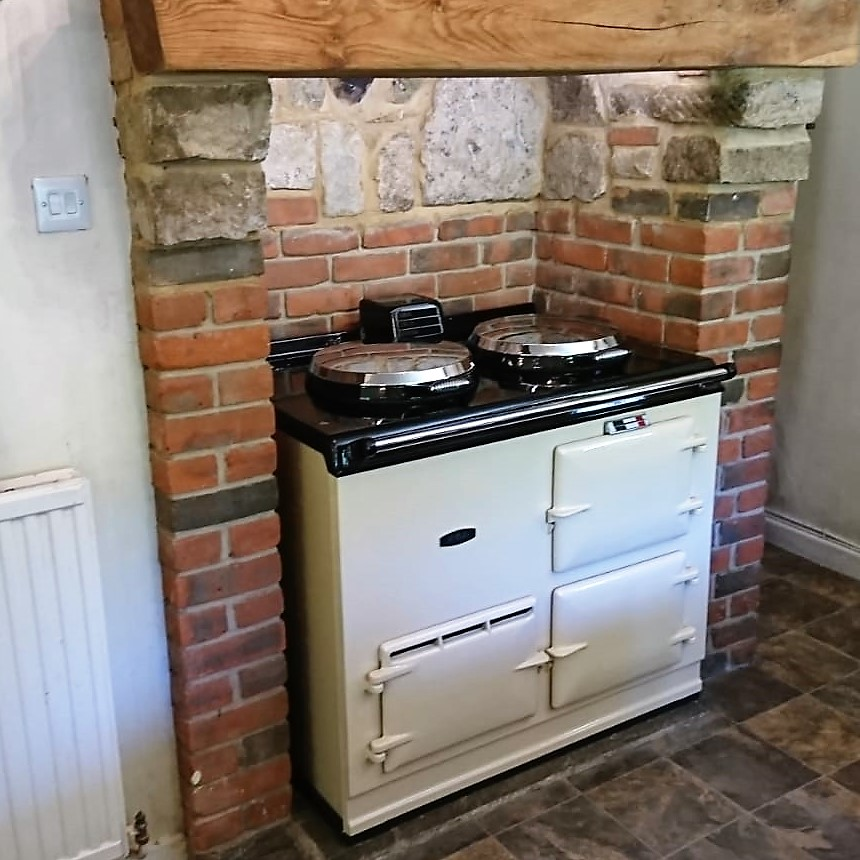 2 Oven Post 74 Electric Aga<br><br>Installed in The New Forest