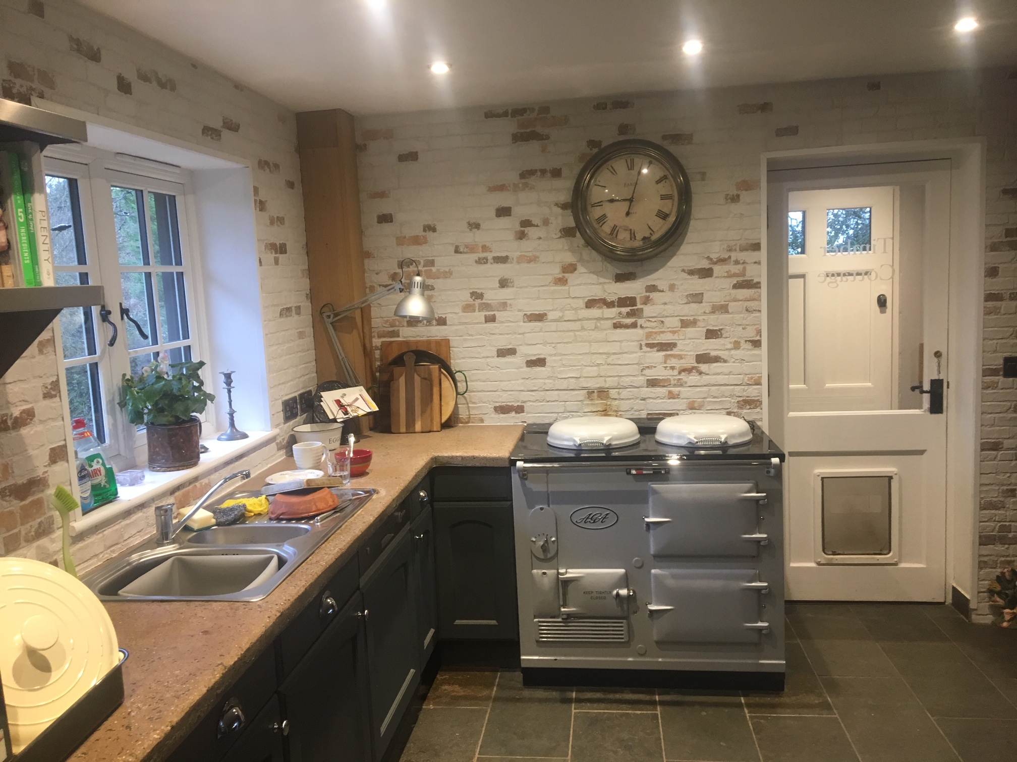 2 Oven Aga Standard<br>Fully reconditioned <br>Re-Enamelled in Light Grey<br>Converted to Electric <br><br>Installed in West Sussex