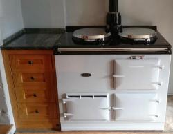 2 Oven Gas Aga installed in Bath