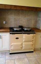 2 Oven Pre 74 Aga Cooker installed in Poole