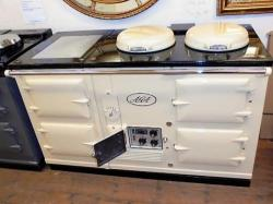 4 Oven Aga Standard<br>Re-Enamelled, refurbished and converted to Electric by us in December 2014.<br><br>Minimal use by previous owner <br>Supplied and installed as seen in a 50 mile radius with <br>12 months guarantee.<br>Charge for over 50 miles<br>