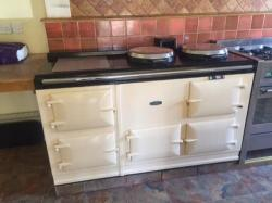 4 oven Pre 74 Aga Cooker ready to be enamelled in choice of Colour and fully reconditioned 